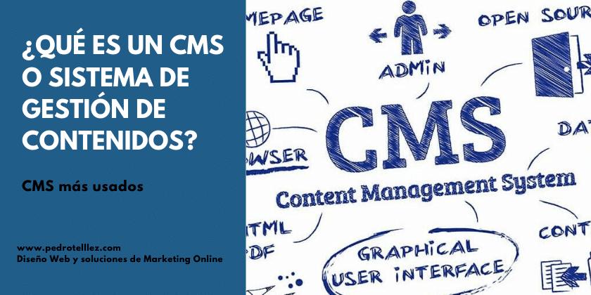 Qué es un CMS o sistema de gestión de contenidos
