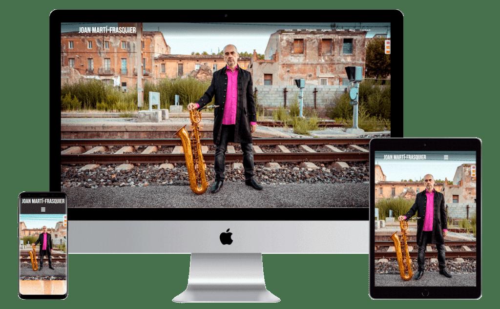 Diseño web Joan Marti-Frasquier